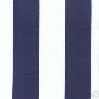 Awesome PERFECT Royal Navy Blue alternating stripe with White Stripes.
