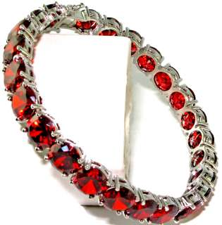 Latest collection Exclusive style Garnet.925 SILVER Bangle