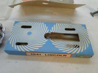 VINTAGE 1941 LINCOLN CABRIOLET FRICTION TOY CAR CRAGSTAN WILD WHEELS