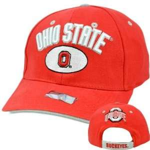 NCAA Ohio State OSU Buckeyes Game Cap Hat Cotton Curved Bill