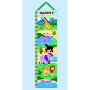 Quality Wild Animals/Pers. Growth Chart By Olive Kids