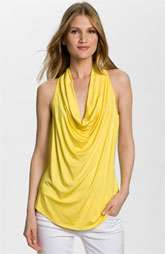 Trina Turk Kerala Cowl Neck Sleeveless Top