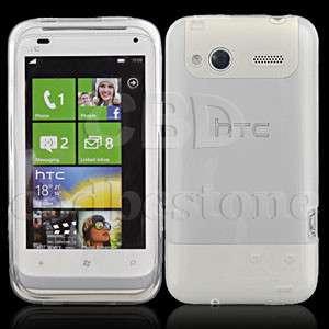 Clear Smooth Soft TPU GEL Silicone Skin Case HTC Radar 4G for T Mobile