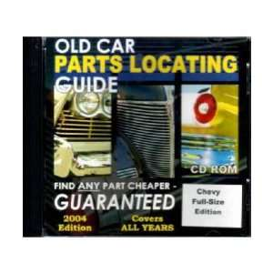 CHEVROLET Full Size Parts Locating Guide Catalog CD