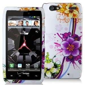 Electromaster(TM) Brand   Purple Flower Design Crystal Hard Skin Case