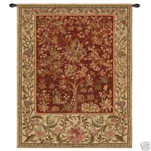 Ruby TREE OF LIFE Tapestry EXTRA LARGE Wall Hanging Art