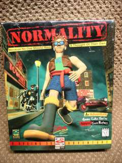 Normality (BRAND NEW/WRAPPED) Large Retail Box (PC) 040421131952