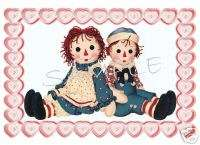 RAGGEDY ANN & ANDY #1 T SHIRT Iron On Decal TRANSFER |