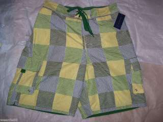 CLUB ROOM Macys Mens NEW Swim Board Shorts Trunks $35