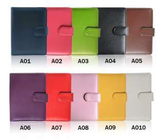 Leather Case Cover Jacket Black For  Kindle 4 in 6 colors