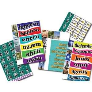 Spanish Calendar Magnets
