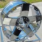 24 XD ROCK STAR CHROME WHEELS RIMS FORD F250 F350 KING RANCH 8X170