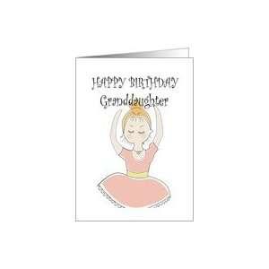 com HAPPY BIRTHDAY, GRANDDAUGHTER, CUTE BALLERINA FOR A CHILD, DANCE