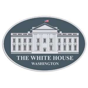 The White House Seal Oval Sticker