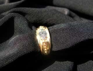 Ladies Harley Davidson Ring   10k gold