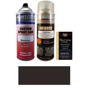 12.5 Oz. Black Matt (Wheel) Spray Can Paint Kit for 2011 Ford Mustang