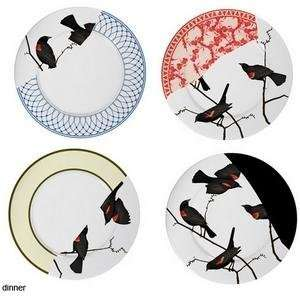 Areaware Seconds Dinner Plates, Set of 4