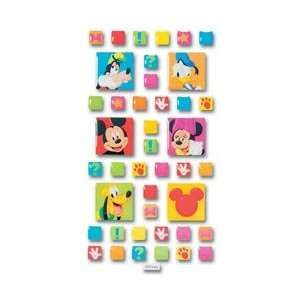 Disney Mickey Mouse Epoxy Tile Scrapbook Stickers Donald