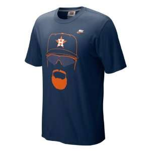 Nike Cooperstown Hair itage Jeff Bagwell Player Tee
