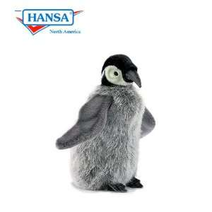 Hansa Penguin Chick Stuffed Plush Animal