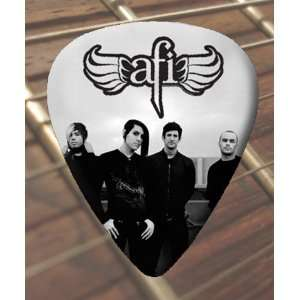 AFI (1) Premium Guitar Picks x 5 Medium Musical