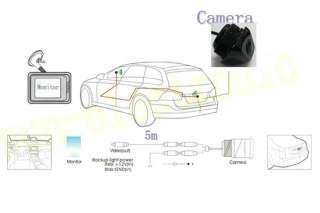 CCD Car Rear View Reverse Backup CAMERA For BMW X5 / BMW X3 BMW X6 X1
