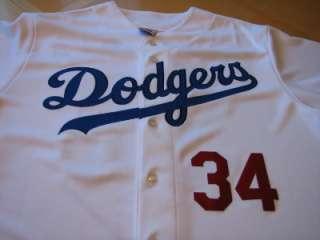 FERNANDO VALENZUELA Signed & MLB hologram Authenticated Dodgers Jersey