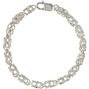 Bullet Chain Bracelet 8 in. (Also Available in 7), 1/4 in. (6.5mm