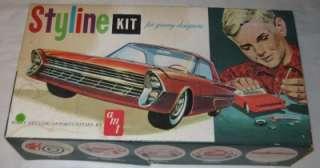 Original AMT 1/25 1961 Ford Galaxie Plastic Model Kit #S121, built