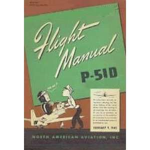 North American Aviation P 51 D Mustang Aircraft Flight Manual Sicuro