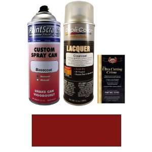 12.5 Oz. Barcelona Red Pearl Metallic Spray Can Paint Kit