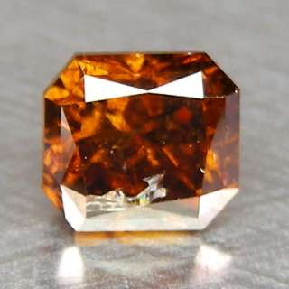 55cts Radiant Red Cognac Natural Loose Diamond |