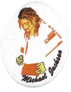 MICHAEL JACKSON LIMITED FACE COLLECTION PATCH IRON/SEW