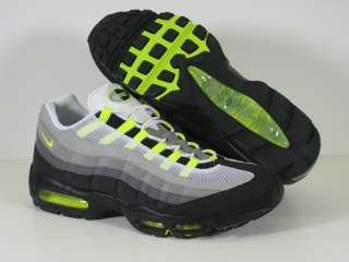 New Air Max 95 Cool Grey/Neon Yellow 609048 072 Sz14, 15