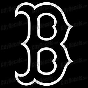 BOSTON RED SOX B   VINYL WINDOW DECAL