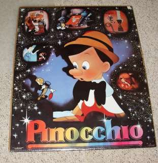 Walt Disney 1986 SEALED Posters MICKEY MOUSE Pinocchio DONALD DUCK
