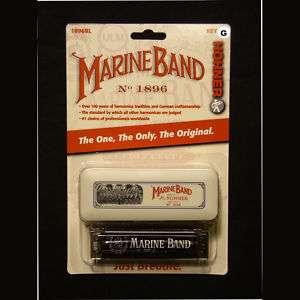 Hohner Marine Band 1896 Diatonic Harmonica Key of G