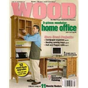 ... Better Homes And Gardens WOOD Magazine Issue 164 September ...