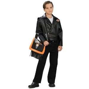 Rubies Costume Co 33226 Harley Davidson Black Jacket