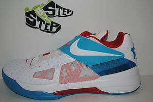 NEW Mens Nike Zoom KD IV N7 White Size 8.5 14 DS Aunt Pearl YOTD 4