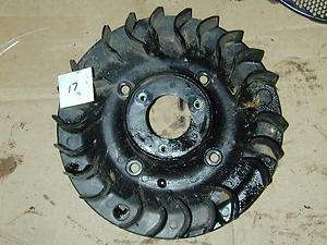 Deere K Series 14HP OHV Kawasaki FC420V Engine   Flywheel Fan