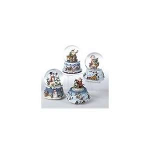 Club Pack of 12 Musical Santa Claus and Snowman Christmas Water