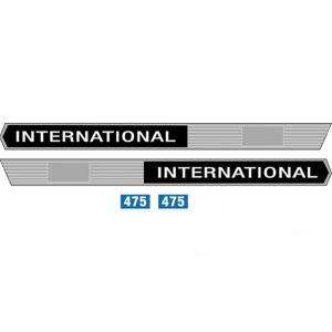International Case IH Tractor Model 475 Decal Set