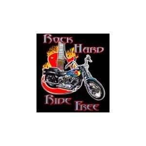 T shirts Tough Enough Motorbike & Guitar XXL Everything