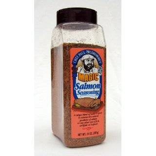 Chef Paul Prudhommes Magic Seasoning Blends ~ Salmon Magic, 24 Oz