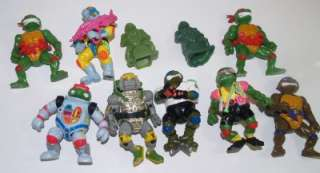 89 91 Teenage Mutant Ninja Turtle TMNT 50 Action Figures and other