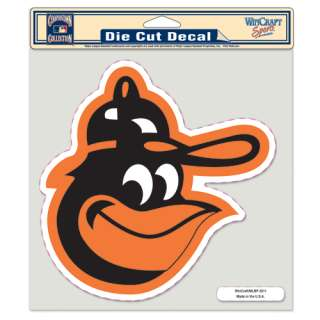 ORIOLES 8X8 VINTAGE DECAL FUNBIRD LOGO LARGE OUTDOOR WINDOW CAR TRUCK