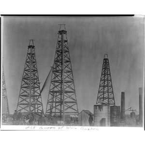 ,oil industry,Beaumont,Port Arthur,Texas,c1901 Home & Kitchen