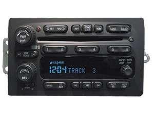 03 04 05 CHEVY Silverado Suburban Tahoe AVALANCHE RADIO 6 CD Changer