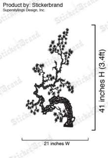 Vinyl Wall Decal Sticker Chinese Asian Flower Floral